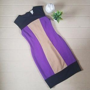 Cache Colorblock Dress