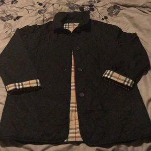 Burberry Quilted Jacket Sz Medium