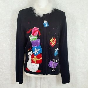 🔴 SALE Tiara UGLY Christmas Sweater #213