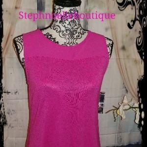 💞INC international pink medium top💞