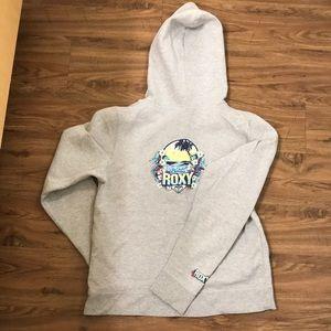 Roxy gray hoodie