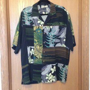 100% Silk Tommy Bahama Shirt