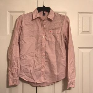 Light Pink Polo Ralph Lauren Button Down Shirt