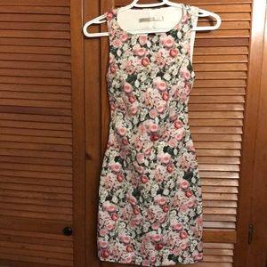 Zara open back dress