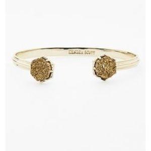 "Kendra Scott ""Arden"" Gold Drusy Bracelet"