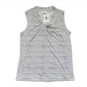 Calvin Klein Sleeveless Knot-Neck Top