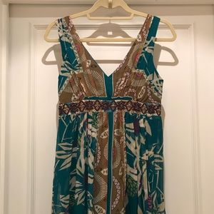 Nicole Miller floral print dress