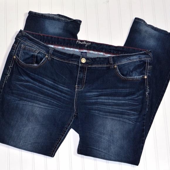 3c89e4f678 Amethyst Jeans Denim - Amethyst Plus Size 24 Bootcut Jeans