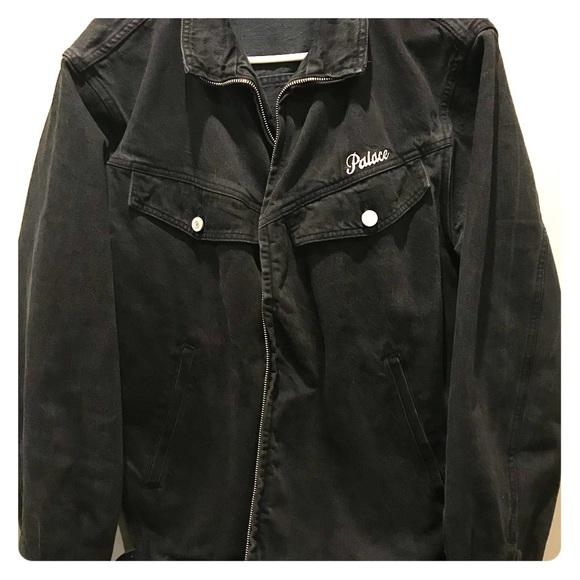Palace Jackets Coats Denim Jacket Zip Up Poshmark