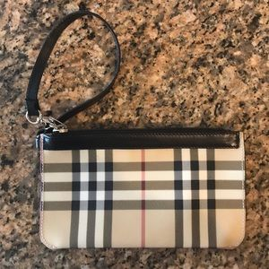 Authentic Burberry Clutch/Pouch
