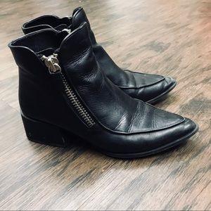 Zippered Zara booties
