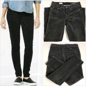 GAP Always Skinny Soft Black Corduroy Pants