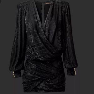 Balmain H&M limited edition black dress