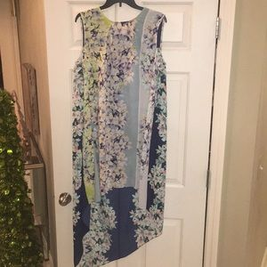 BCBG Max Azria, high low dress, size L