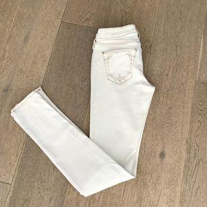 True religion white jeans - like new