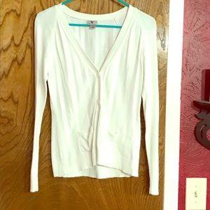 Women's White Cardigan. Like New!!
