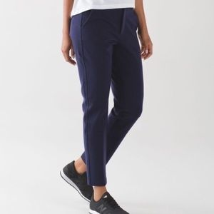 Lululemon City Trek Navy blue inkwell dress pants
