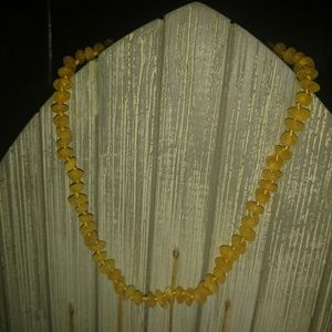 Genuine Raw Baltic Amber Teething Necklace