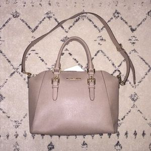 Michael Kors Satchel in Sand color