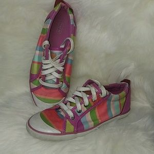 Coach Rainbow Tennis Shoes 🌈