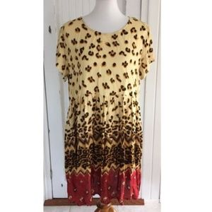 MinkPink Wild Thing Cheetah Dress