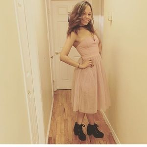 Strapless Tutu dress