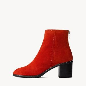 Rag & Bone Women's Red Willow Suede Studded Boots
