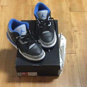 Authentic Air Jordan Retro 3 w/original box.