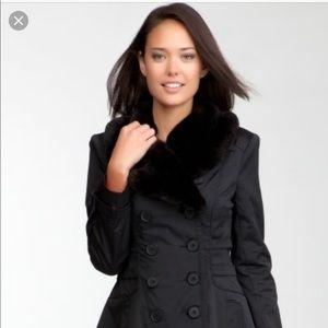 Breathtaking BeBe Fur Collar Corset Jacket