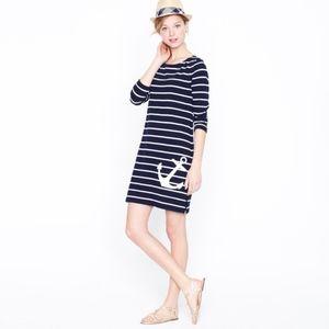 J. Crew Maritime Anchor Dress