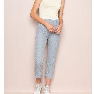 Brandy Melville blue stripped pants