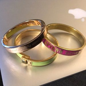 Three Assorted Kate Spade Bracelets