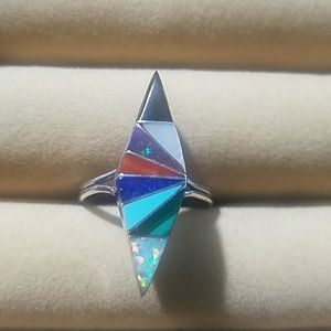 American Indian Sterling Silver Ring .925