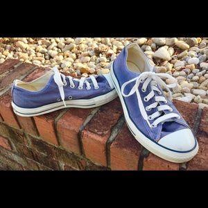Blue Ladies Converse Sneakers