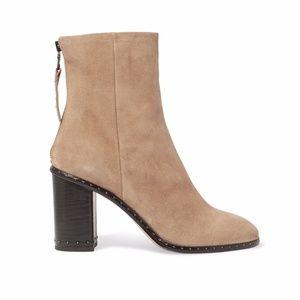 Rag & Bone Women's Camel Blyth Suede Boots