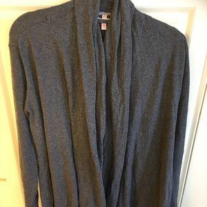 Victoria's Secret Gray Knit Cardigan