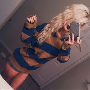 🍂 {Rich Autumn} Knit Stripe Sweater