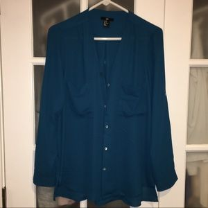 Hi-Lo Blouse from H&M