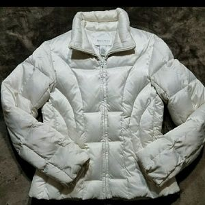 WHBM down quilted jacket
