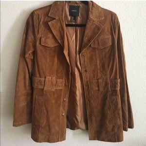 Forever 21 Brown Suede Jacket