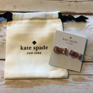 Kate spade moon river glitter studs