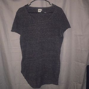 ASOS men's medium short sleeve grey long shirt