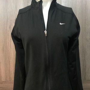 Womens Nike jacket with finger holes track jacket