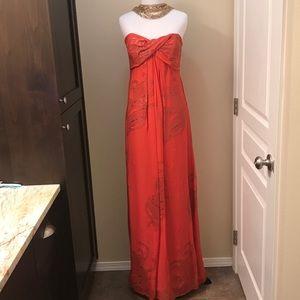 Silk Nicole Miller Gown