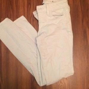 White American eagle jegging size 2