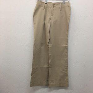Banana Republic Tan Contoured Fit Pants NWT Sz. 0P