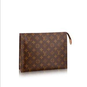 Louis Vuitton (Authentic) Tolietry Pouch 26