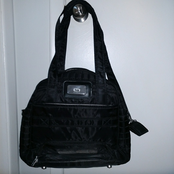 lug Handbags - Lug Puddle Jumper Bag with two Lug cosmetic bags