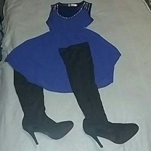 Dresses & Skirts - Dress and Boots !!
