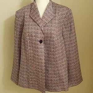 Sag Harbor Tweed Blazer
